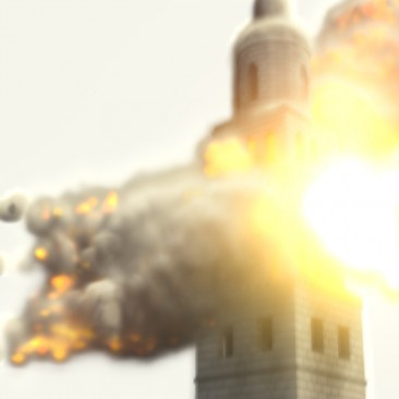 Tower Explosion